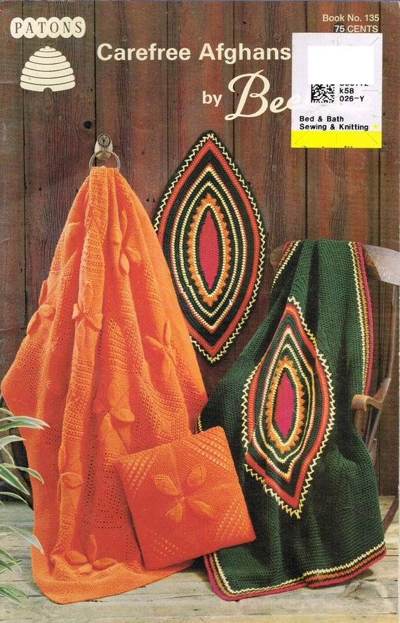 KNIT/CROCHET Afghan Patterns - Tartan Afghan Pattern - Pinwheel ...