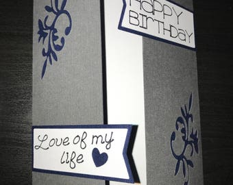 Personalized Birthday Card (Made to order)