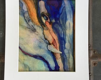 Art print, elephant art,elephant artwork, abstract art,wall art, nature art, inspirational art, emotional art