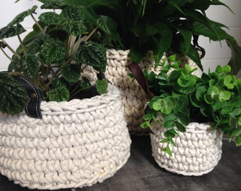 Cotton Rope Basket (Large)