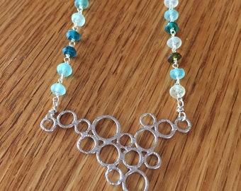 Roman glass beaded necklace