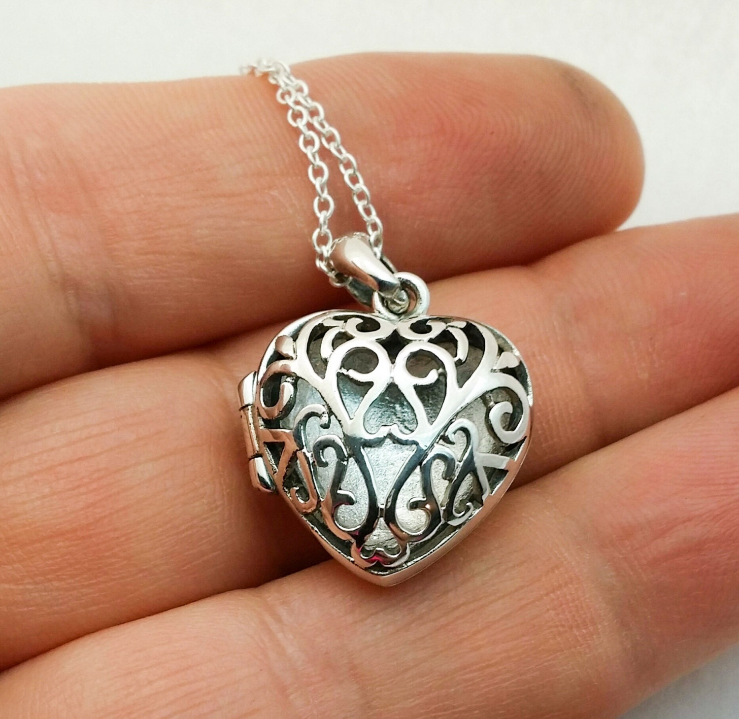 jewelry secret engravable locket heart medical id lockets message
