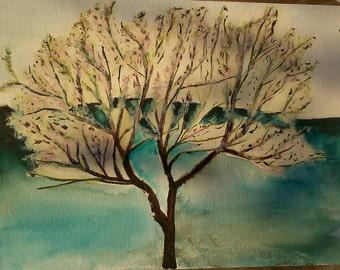 Blossoms - original watercolour painting
