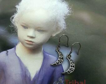 Turkish silver earring,Anatolia earring