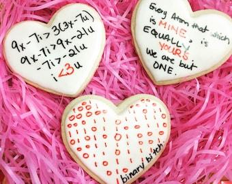 Valentines Cookiegram Set 5 Geeky Love