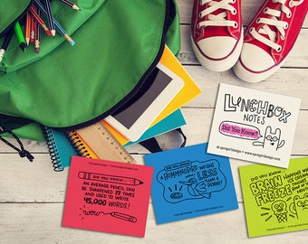 Did You Know? Lunchbox Notes (Set of 24)