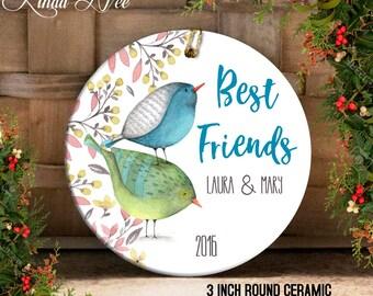 Best Friends Ornament, Personalized Best Friend Christmas Gift, Personalized Ornament, You're my Person Ornament Best Friend Gift Idea OCH53