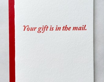 In the Mail Card