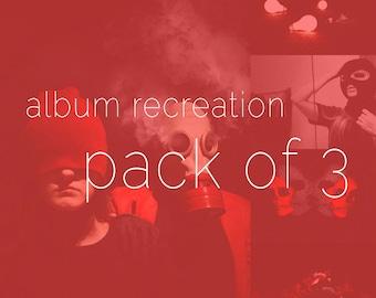 Album Recreation **PACK OF 3**