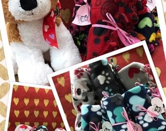 Knotted Edge Pet Fleece Blankets