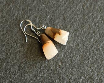 Ombre Onyx earrings