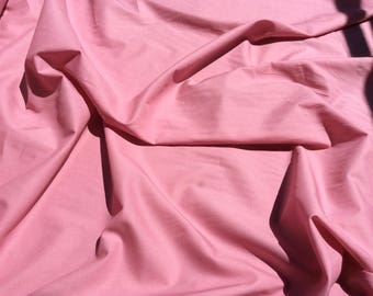 Plain cotton fabric, antique pink no38