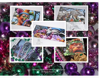 Mardi Gras Stationery Sampler