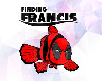 Finding Francis Dory Nemo Layered SVG DXF Png Cut File Disney Cartoon Party Decorations Cricut Designs Silhouette Studio Cameo Scrapbooking