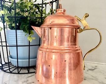 Turkish copper kettle