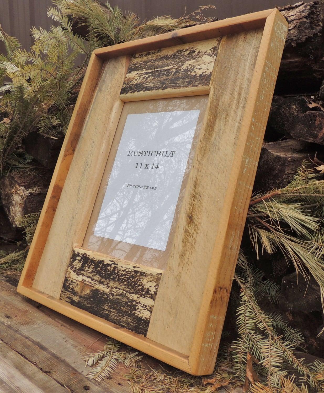 Cuadro madera reciclada marco - casa rústica - Barnwood Marcos ...