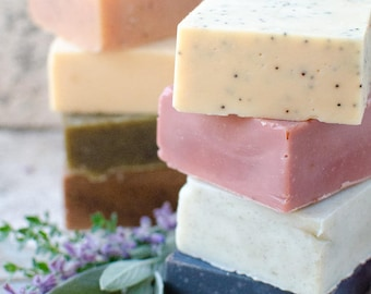 Mix & Match (Any 10 Bars of Natural Soap and get FREE shipping)