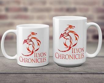 Ilyon Chronicles Red Dragon Coffee Mug