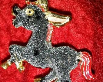 Sale-Cute Braying Donkey Pin