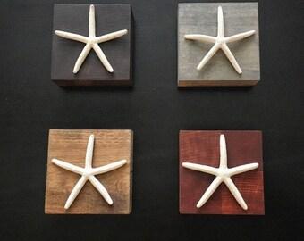 Custom Starfish Blocks- Set of 4
