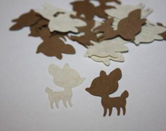 Deer Die Cut Confetti