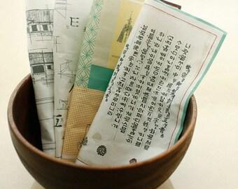 SALE, HanGul and Korean Culture Illus on Oxford Linen, U3110