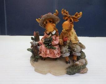 Mooseberry Farms {Simple Pleasures} 1996 Fine Resin Figurine