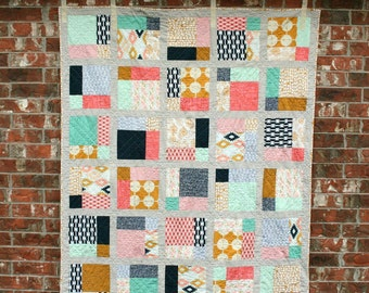 Market Street - Modern Quilt Pattern - INSTANT DOWNLOAD