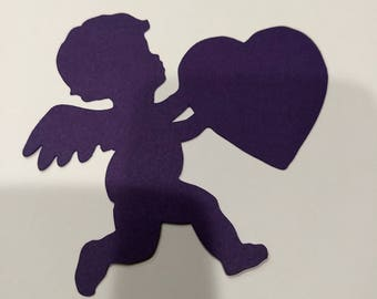 Cupid with Heart Cutout