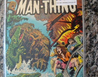 The Man Thing  Issue 3 1974 comic