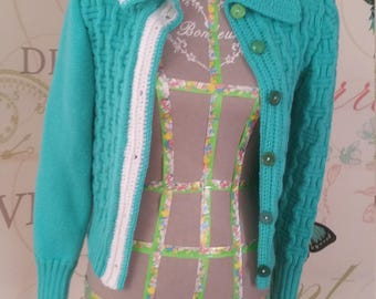 WOMEN WOOL JACKET Green - Size 38 S/M