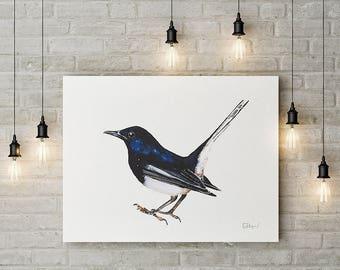 Tweeter - Canvas print