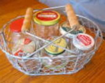 Collectible Vintage Jars & Basket