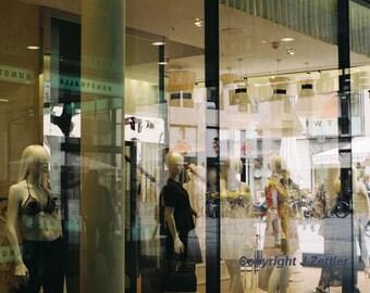 Reflections, Shop Windows, Fine Art Photography, Print, Dessous