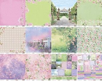 Scrapbooking paper pad Scrapverry's wedding love In bloom