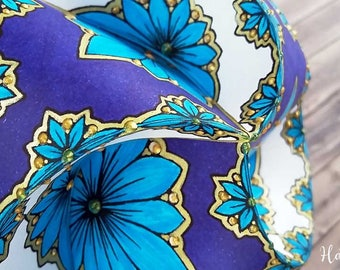 Triskele Paper Globes - Flower Edition - Christmas Ornaments - 3D Paper Craft - 3D Coloring Pages