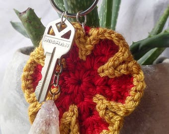 FLOWER POWER keychain - pop