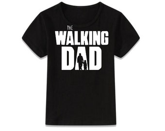 The walking dead inspired t-shirt perfect for Fathers day! The walking Dad