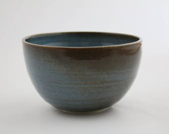 Blue-Brown bowl - one of a kind