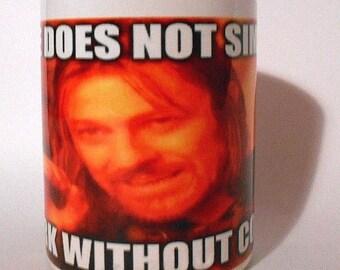 LOTR meme Mug Gift Ready