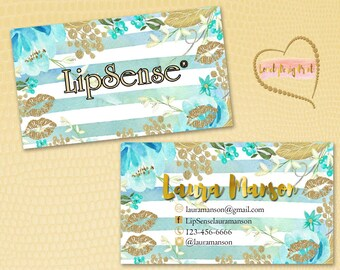 Lipsense Business Cards, Fast Free Personalization and Change, Digital Business Cards, Business Card, Marketing Business card