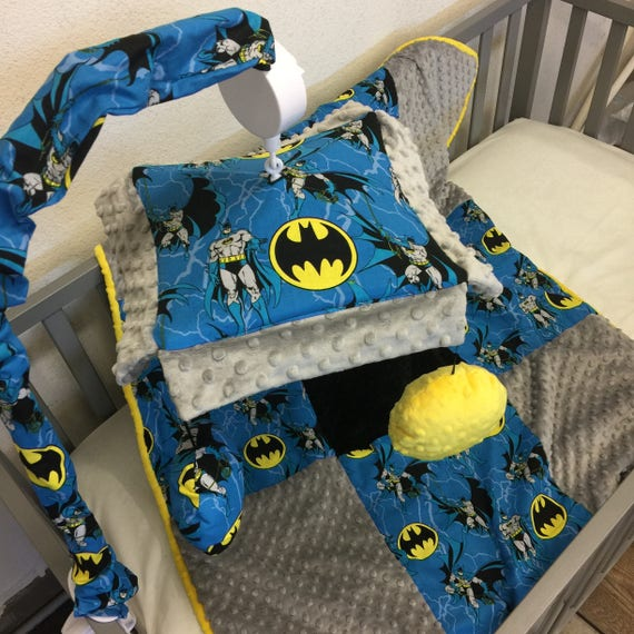 Batman Crib Mobile Custom Your Own You Choose Fabric