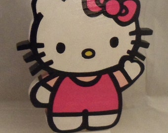 Hello Kitty Standing 8 1/4 in tall Decor, Party Decor, Room Decor