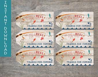 Fishing Favor Tags Printable Favor