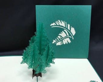 Tree 3-d pop up card