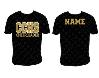 Custom Cheer Shirt