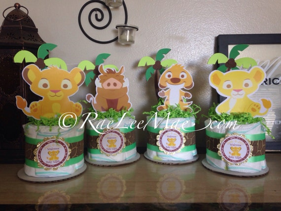 Lion King Cutouts/diecuts/ Lion King Baby Shower Decorations/