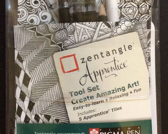 Official Zentangle Apprentice Tool set