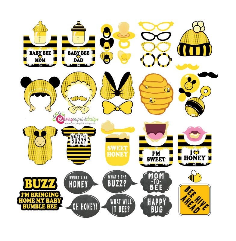 make to bumble bee invitation baby themed mwbh invitations info staggering wording lovely shower