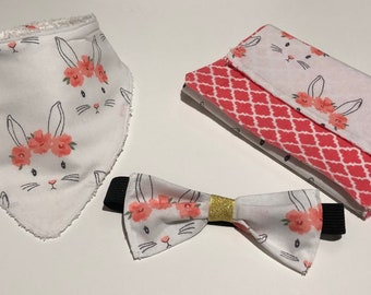 Spring Bunny Baby Set
